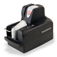 Burroughs Check Scanner - Merchant Elite Series, No Rear Endorser, Single Pocket, 55 dpm, 100 item Feeder SSM1-Elite55