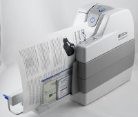 Digital Check SmartSource Open Adaptive 2.0 Check Scanner, Document Scanner with Franker SSA165105-P20/F