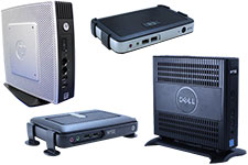 HP and Dell Wyse Thin Clients